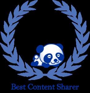 Best Content Sharer